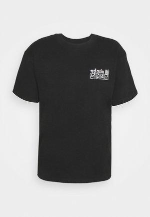 HOKUSAI NOH MASKS UNISEX - Print T-shirt - black