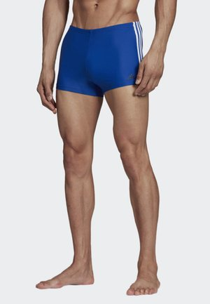 FIT BOXERS 3 STRIPES PRIMEBLUE BOXER SWIM TRUNKS - Swimming briefs - blue/white