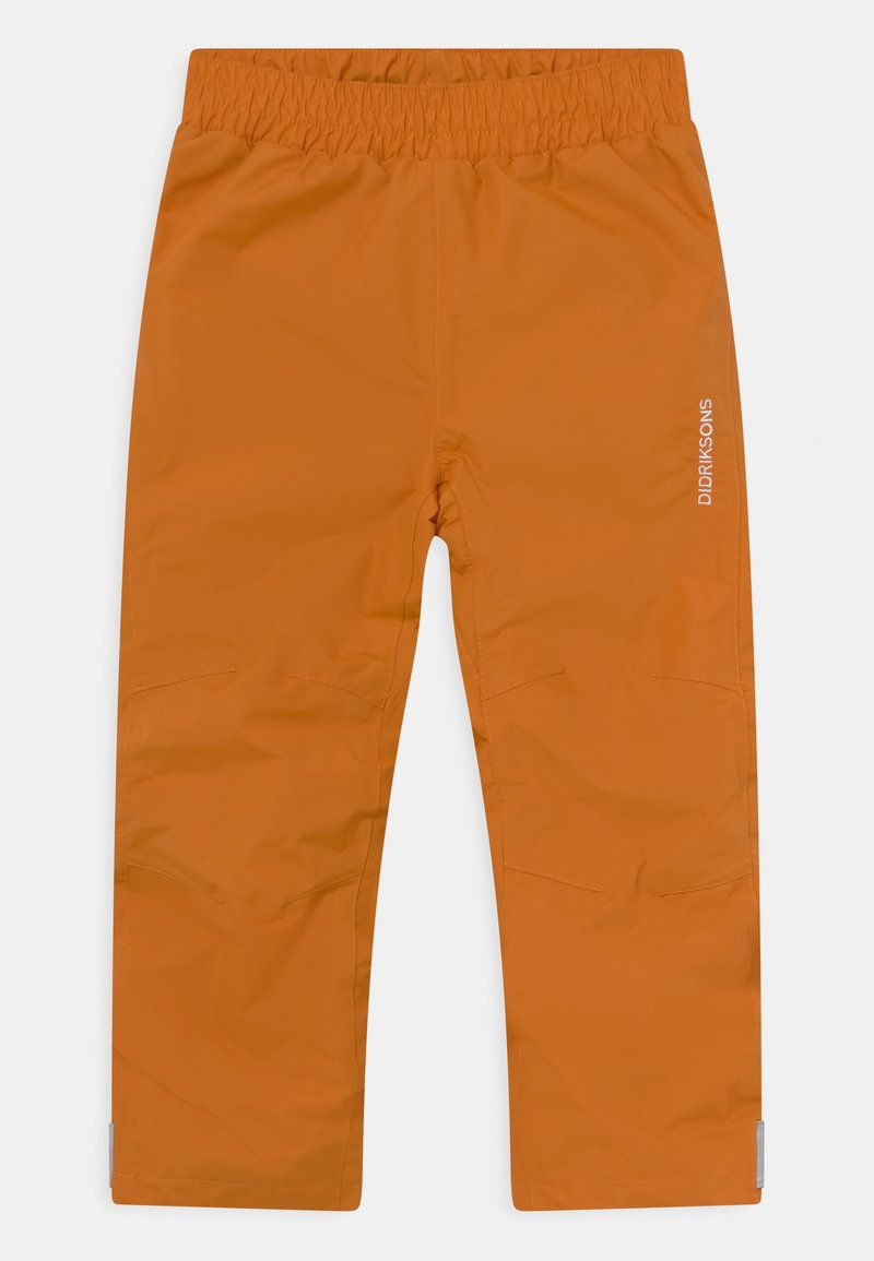Didriksons - NOBI KIDS UNISEX - Rain trousers - burnt glow