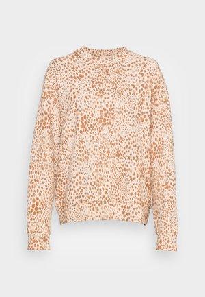 LEO PRINT - Sweatshirt - beige