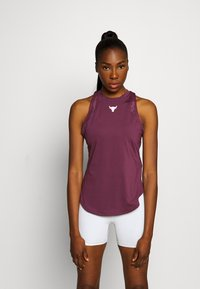 Under Armour - PROJECT ROCK TANK - Funktionsshirt - level purple - 0
