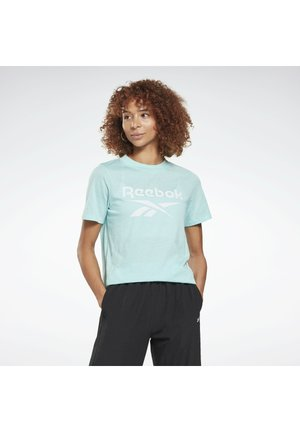 ELEMENTS REECYCLED WORKOUT - Print T-shirt - green