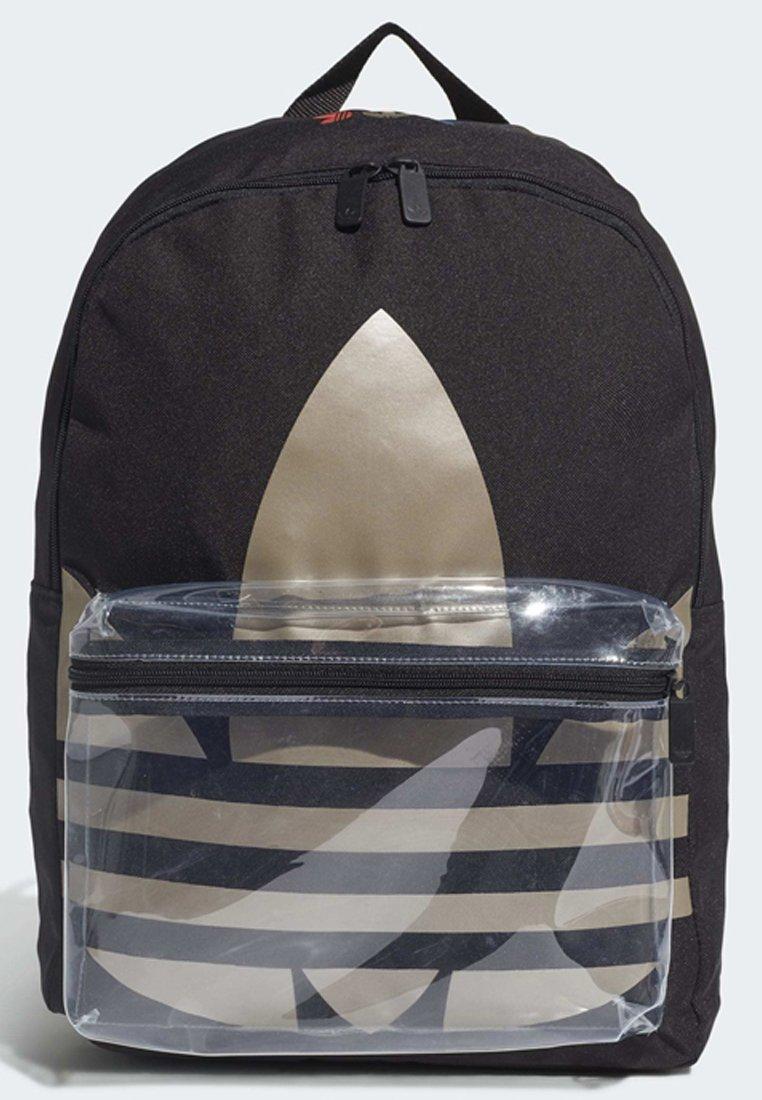 adidas Originals ADICOLOR LARGE TREFOIL CLASSIC BACKPACK - Ryggsekk - black/gold/svart XPoWmOdm5nuNxf0