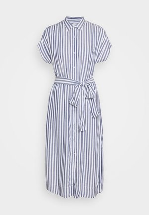 MIDI - Shirt dress - blue
