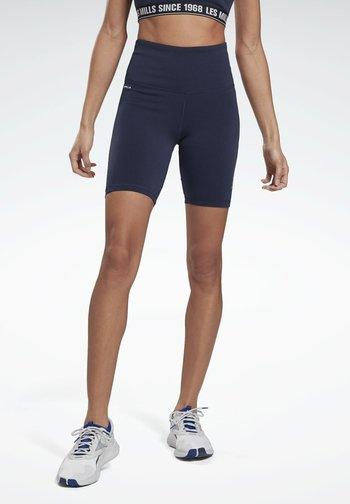 LES MILLS® BEYOND THE SWEAT BIKE SHORTS - Shorts - blue