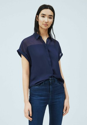 MINA - Button-down blouse - thames