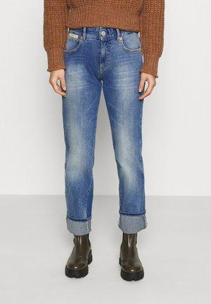 MARLIES STRETCH - Straight leg jeans - blend