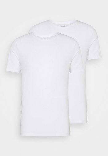 SOLID THOMAS TEE 2 PACK - Undershirt - brilliant white