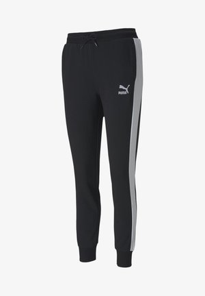 KVINNA - Tracksuit bottoms - black