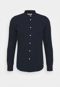 MINI STRUCTURE - Shirt - navy small dobby