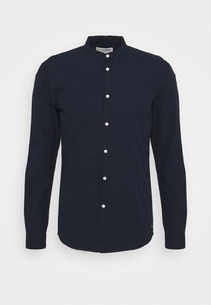 MINI STRUCTURE - Camisa - navy small dobby