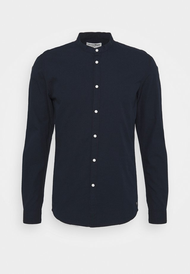 MINI STRUCTURE - Chemise - navy small dobby