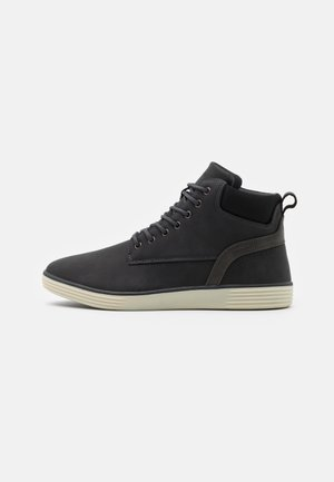 High-top trainers - dark grey