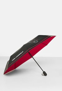 KARL LAGERFELD - IKONIK OUTLINE UMBRELLA - Schirm - black