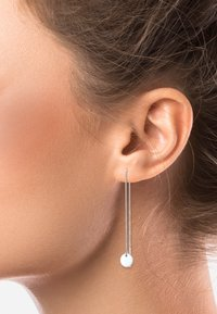 Elli - KREIS PULL-THROUGH - Earrings - silber - 1