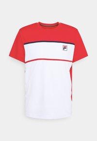 white/fila red