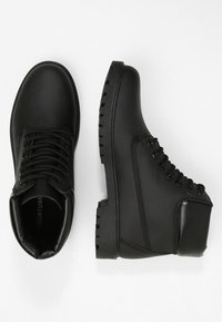 YOURTURN - Lace-up ankle boots - black - 1