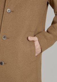 TOM TAILOR DENIM - Classic coat - hay beige - 4