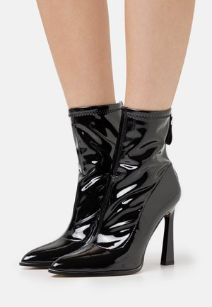 NAOMY - Bottines à talons hauts - black