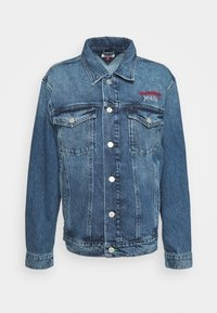 Tommy Jeans - TRUCKER  - Denim jacket - mid blue rigid - 3