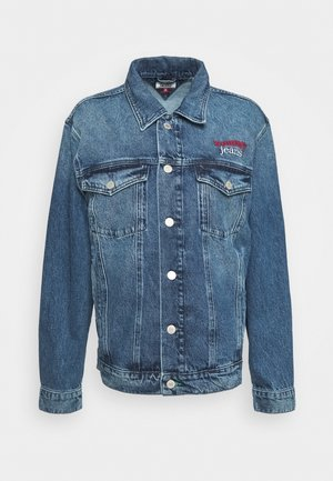 TRUCKER  - Giacca di jeans - mid blue rigid