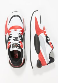 Puma - RS 9.8 SPACE - Zapatillas - white/high risk red - 1