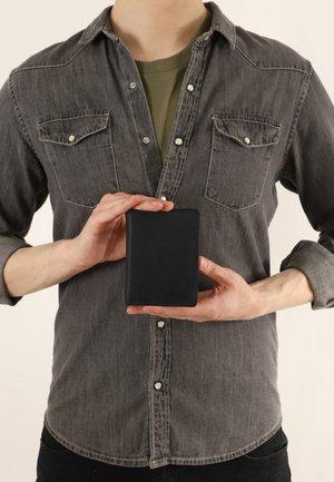 Wallet - schwarz  ziegenleder