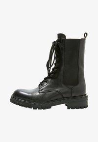 Inuovo - Platform ankle boots - black blk - 1