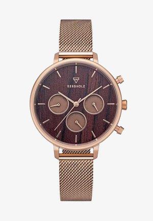 HELENE - Chronograph watch - rose gold-coloured