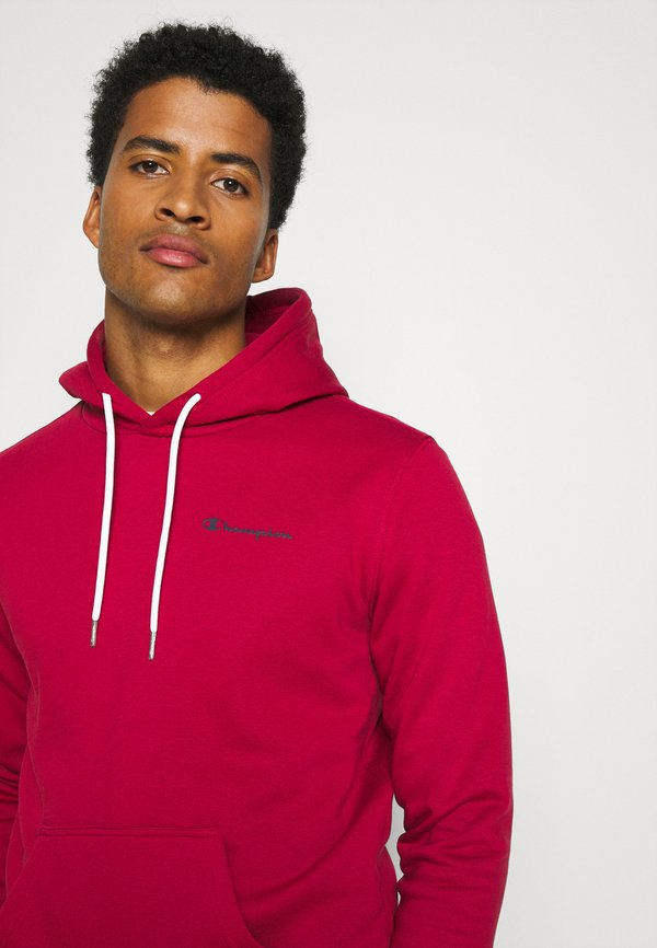 Champion LEGACY HOODED - Bluza z kapturem - dark red/ciemnoczerwony Odzież Męska SIXT