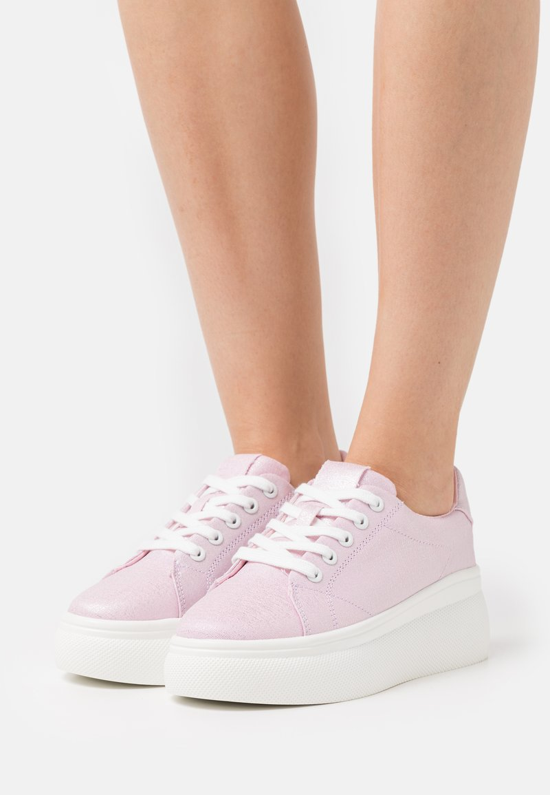 Even&Odd - Sneakers laag - light pink