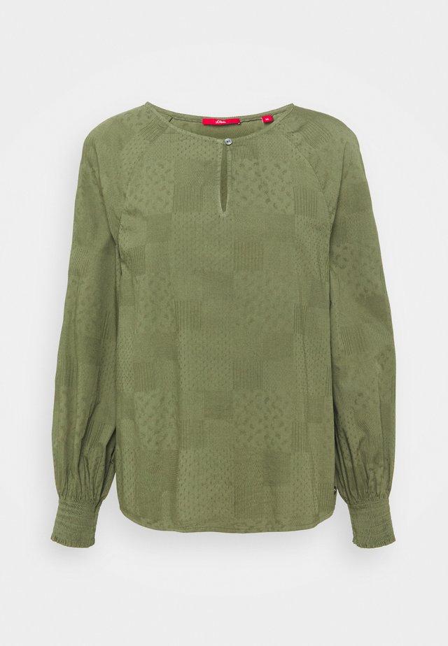 Långärmad tröja - khaki