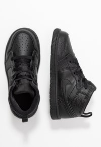 Jordan - 1 MID - Basketbalové boty - black - 0