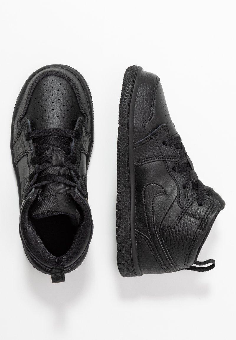 Jordan - 1 MID - Basketbalové boty - black