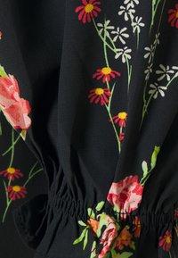 Glamorous Tall - LADIES DRESS FLORAL MINI - Korte jurk - black/pink - 2