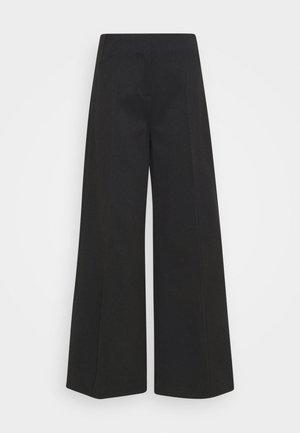 PETRA TROUSER - Kalhoty - black