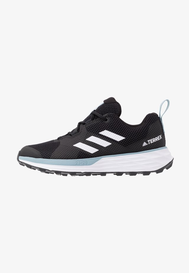 TERREX TWO - Chaussures de running - core black/footwear white/ash grey