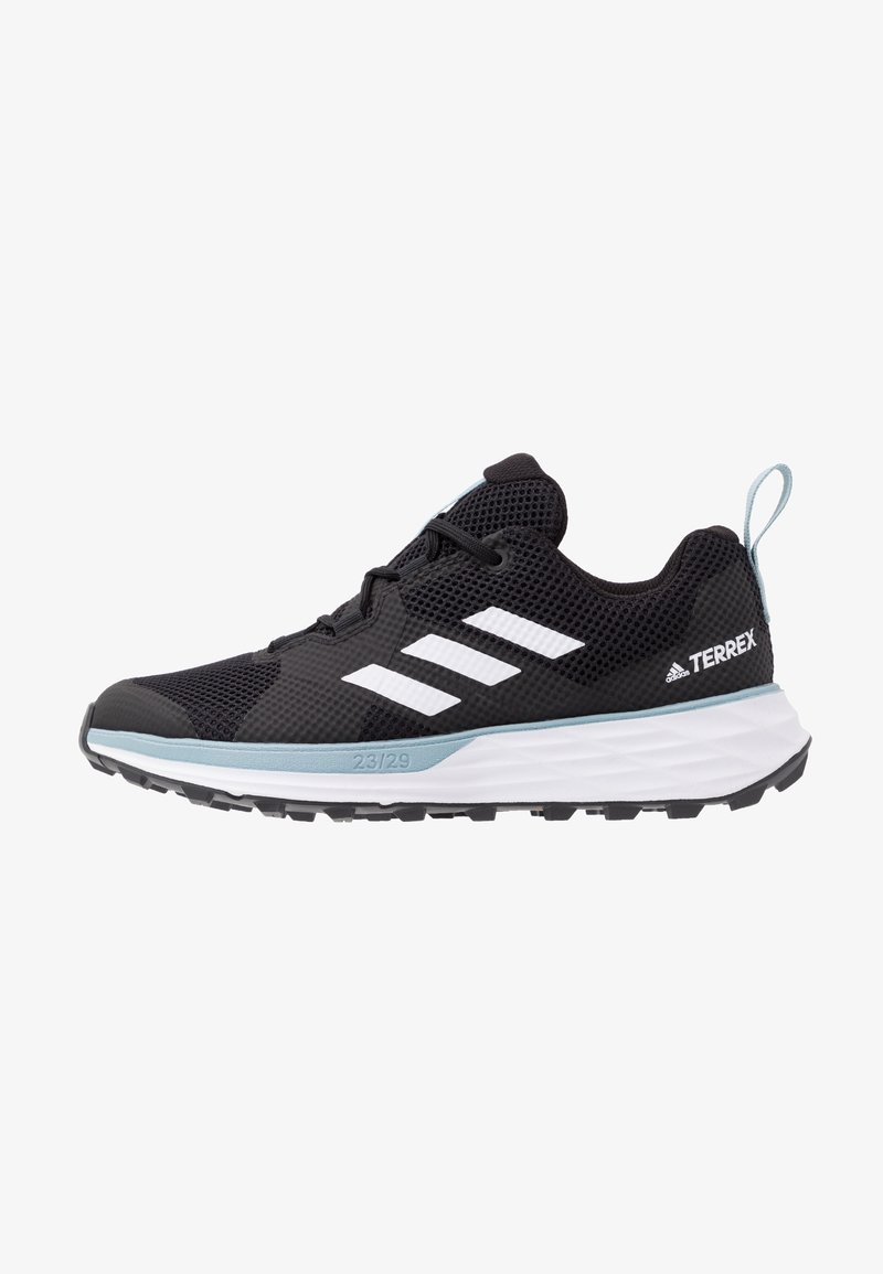 adidas Performance - TERREX TWO - Løbesko trail - core black/footwear white/ash grey