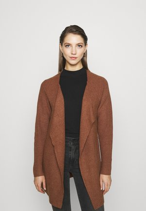 VIRIL OPEN OVERSIZE - Cardigan - brown