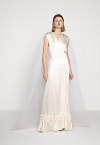 MM6 Maison Margiela - Společenské šaty - white - 0