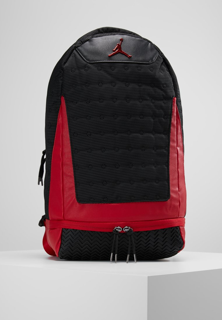Jordan - RETRO 13 PACK - Rucksack - black/gym red