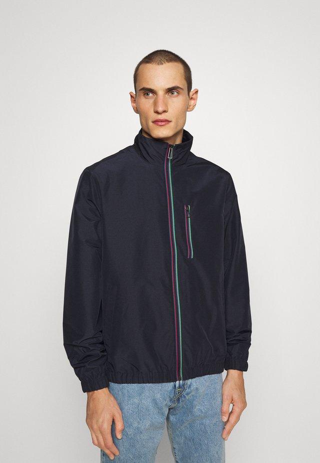 TRACK JACKET - Summer jacket - dark blue