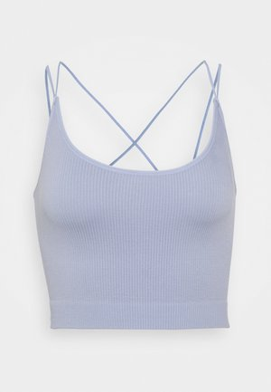 STRAPPY BACK CAMI - Topper - pale blue