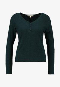 Esprit Petite - HENLEY - Svetr - dark teal green - 4