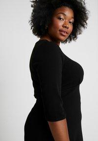 Dorothy Perkins Curve - EMPIRE WAIST DRESS - Jerseyjurk - black - 3