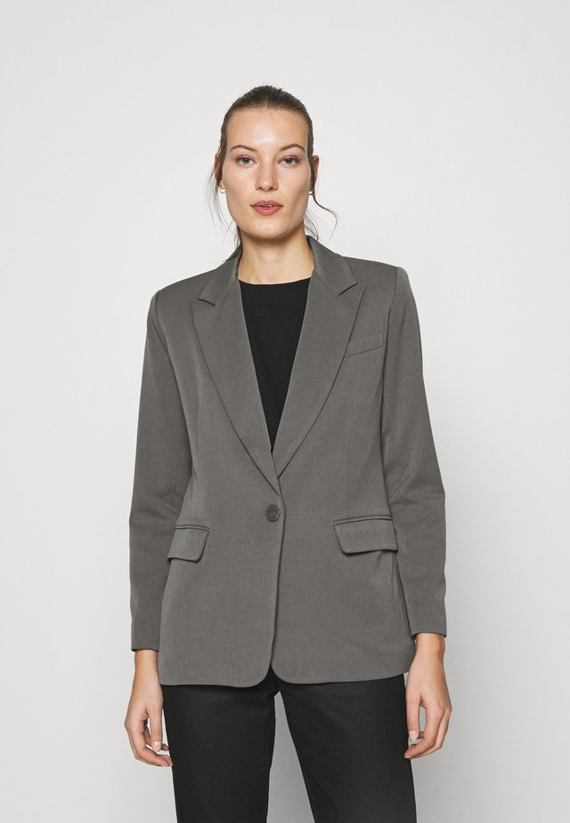 SINGLE BREASTED JACKET - Blazer - slate