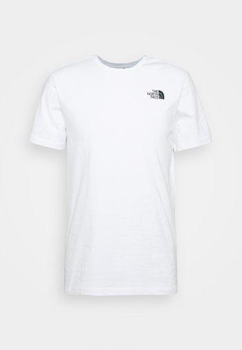SLICE TEE - Print T-shirt - white