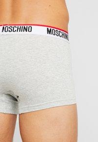 Moschino Underwear - TRUNK 2 PACK - Underbukse - grey - 2