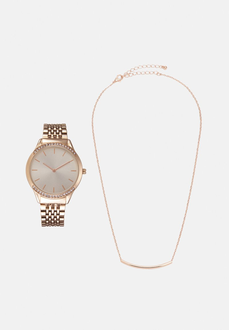 Anna Field - SET - Watch - rose gold-coloured