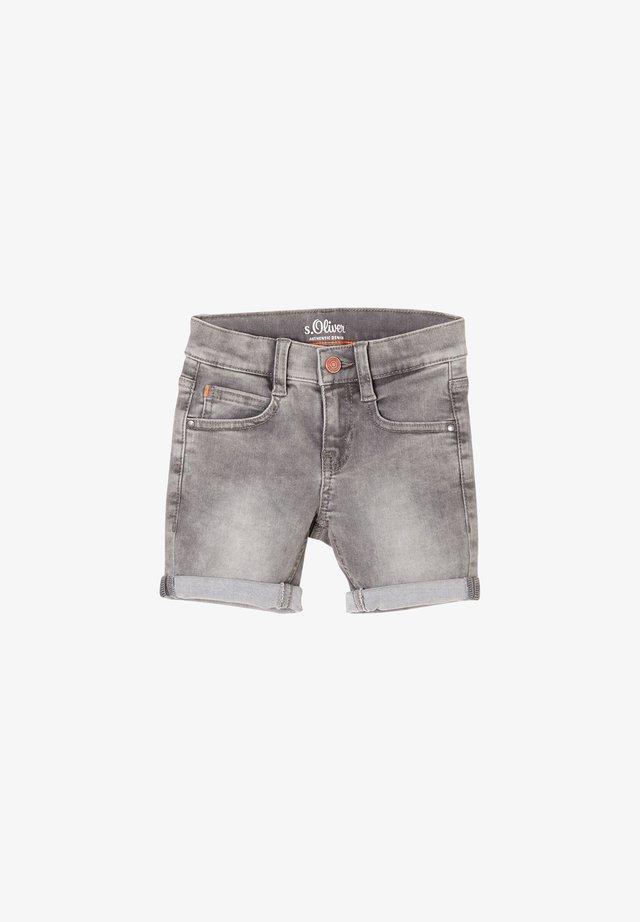 Jeansshort - grey